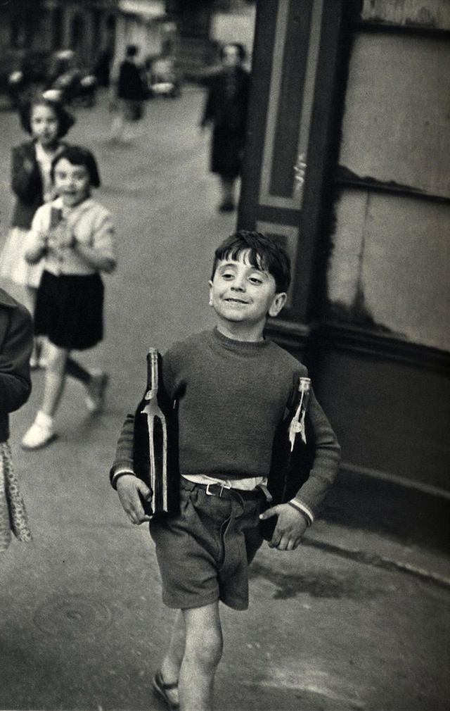 A PARIS MOMENT Incarcerated in Nazi Germany in 1940 while serving in the French army, photographer HENRI CARTIER-BRESSON escaped on his third attempt. He later covered the liberation of France. Interestingly, many in the United States believed him to have perished in the war, so Cartier-Bresson traveled to New York in 1946 to open an exhibition at the Museum of Modern Art.
