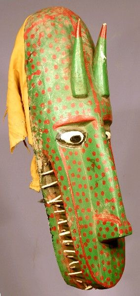 79 cm high Bozo mask from Mali.