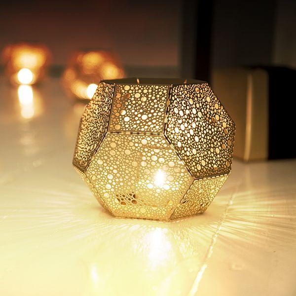 Etch candleholder, brass - Tom Dixon Etch - Candleholders - Decoration - Finnish Design Shop