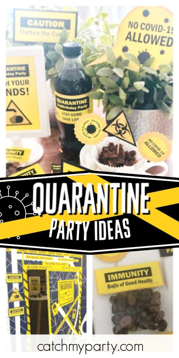 Pin On Quarantine Party