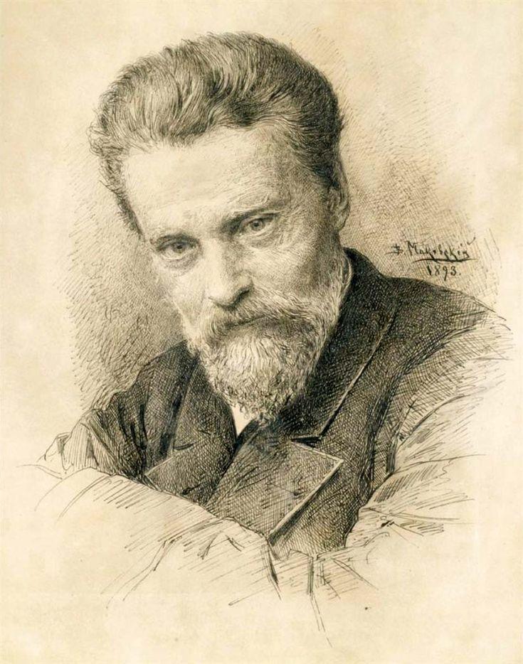 Маковский Владимир Егорович.. Автопортрет. 1893