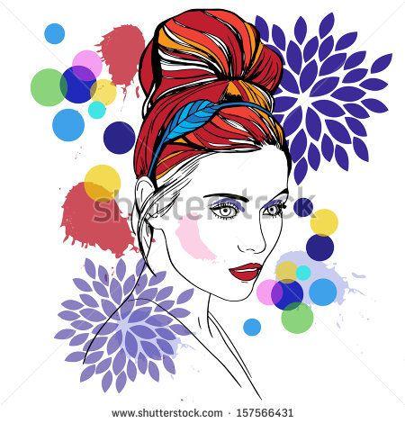 woman face by kenee, via ShutterStock