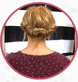 This easy updo will turn heads this summer! #easyupdo #hairstyles
