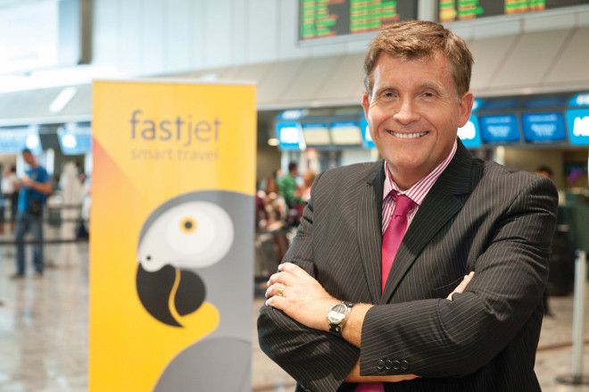 fastjet's CEO of South Arican operations, Kyle Haywood
