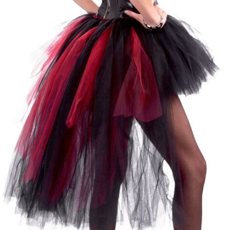 Vampiress Burlesque Tutu for Women - Party City