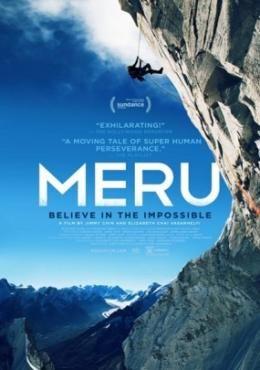 Meru - İmkansız tırmanış filmi 2015 yılında vizyona giren ve oldukça fazla beğeni toplayan bir filmdir. Filmin konusu 3 dağcının Meru adlı hint mitolojisi tanrılarının buluşma yaptığı yer olarak bilinen ve üç dağcının meru adlı kutsal dağ'a tırmanış hikayesini anlatan bir film türüdür.
