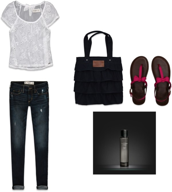 """Abercrombie Outfit"" by catherinehartley on Polyvore"