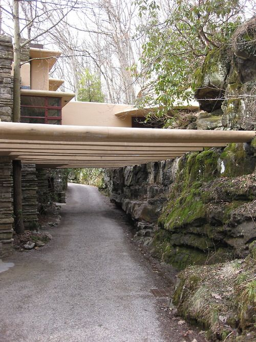 Frank Lloyd Wright S Fallingwater 1936 Mill Run