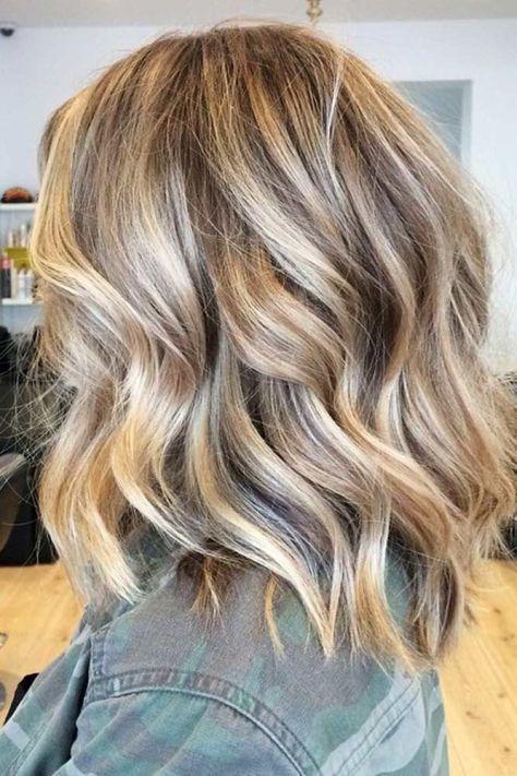 Balayage Frisuren geben Ihnen ultimative neue Look