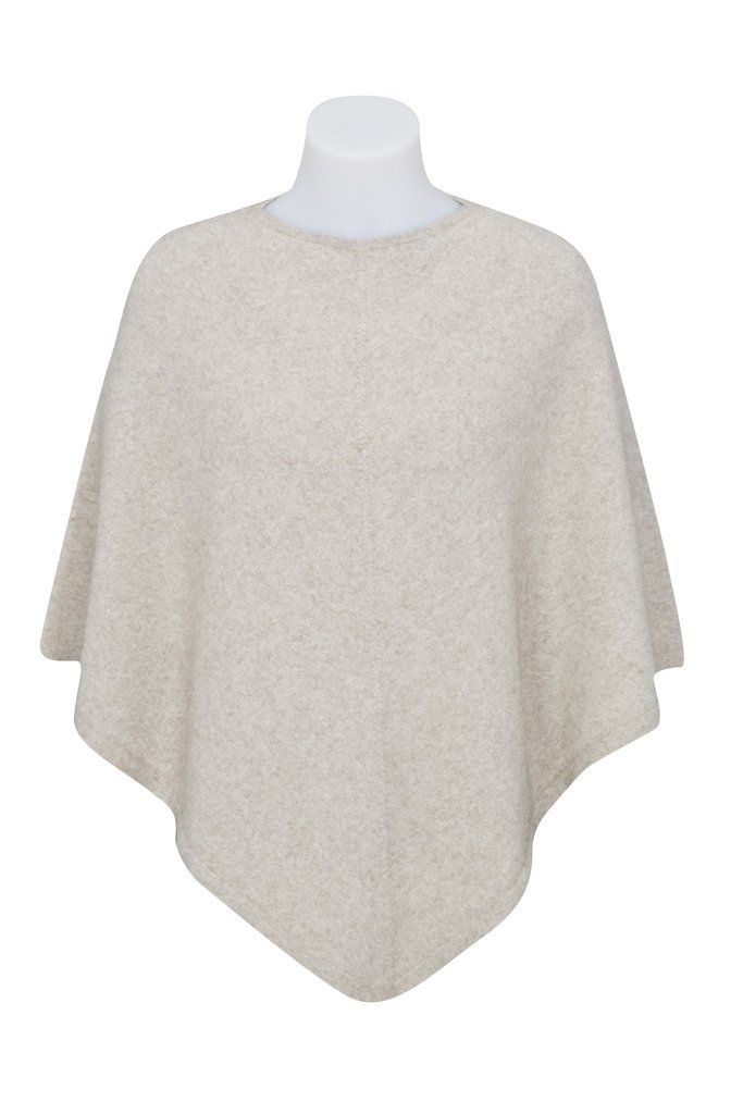 Poncho is definitely a wardrobe staple these days as well as a 'must-have' of the season. This Possum-Merino Poncho takes comfort and…