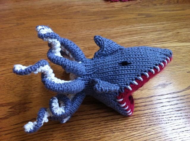 Sharktopus! Crafts, Dinosaur stuffed animal, Baby safe