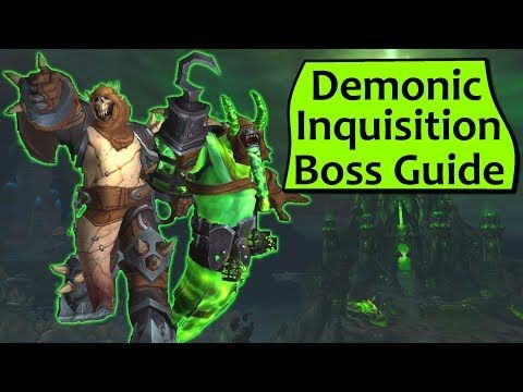 Wow Legion Demonic Inquisition in Tomb of Sargeras - Heroic/Normal Atrigan and Belac Guide - http://freetoplaymmorpgs.com/world-of-warcraft-online/wow-legion-demonic-inquisition-in-tomb-of-sargeras-heroicnormal-atrigan-and-belac-guide