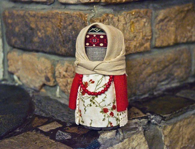 """Кукла приносящая достаток и благополучие в дом -""""Крупеничка"""". http://www.liveinternet.ru/users/lorine/post315573796/"""