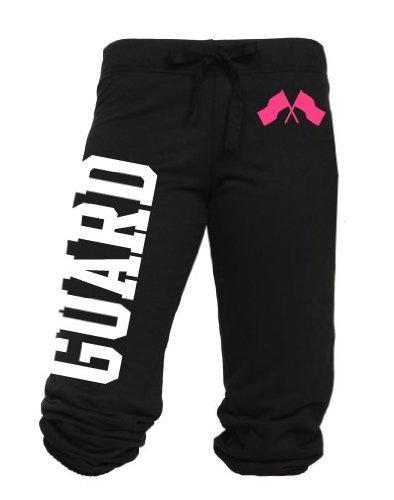 Juniors Color Guard Flags Capri Pants S-L (Medium, NewBlack) Activewear Apparel,http://www.amazon.com/dp/B00A9VP04G/ref=cm_sw_r_pi_dp_qY5rrb0SYG5B2A9S
