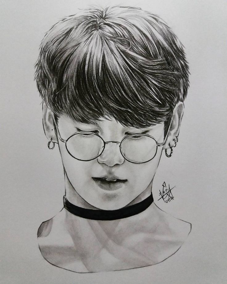8 Best Jungkook Images On Pinterest | Sketches Art Drawings And Bts Bangtan Boy