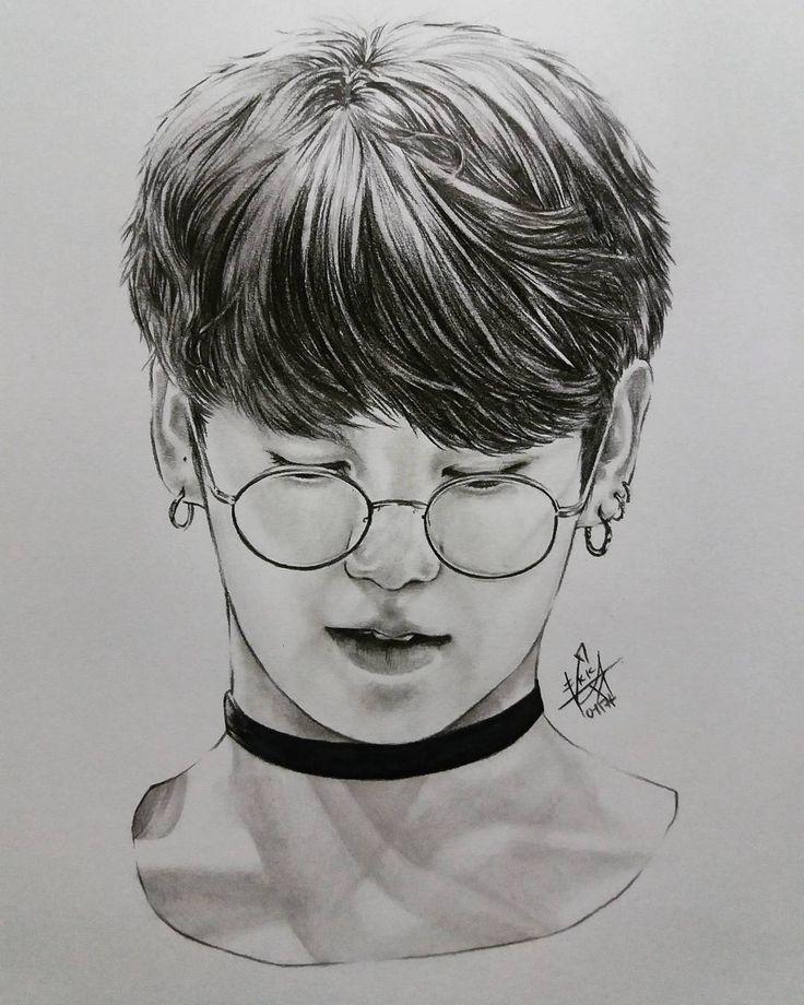 Namjoon Bts Drawings Easy
