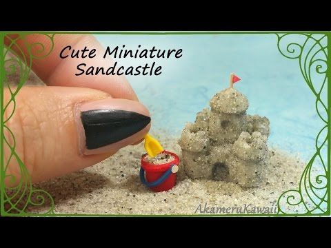 Miniature Sandcastle Tutorial