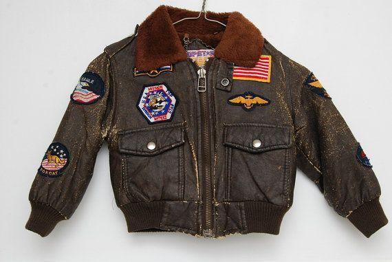 Boy's Bomber Jacket Size 4 Patches by GoosenestPrairieRose on Etsy