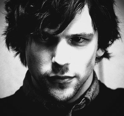 Jesse Eisenberg: Not necessarily a crush but I like this picture.