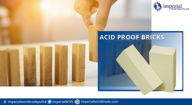 Stay proofed with the acid proof bricks that serve better protection!  #AcidProofBricks #RefractoryBricks #Refactories #Manufacturers #Exporters #ImperialWorldTrade