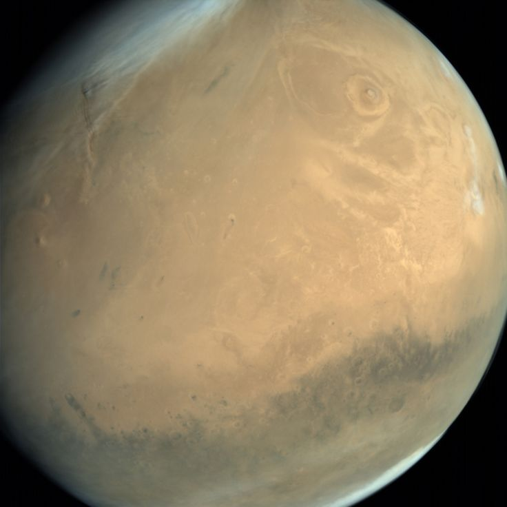 Global view of Mars from MOM