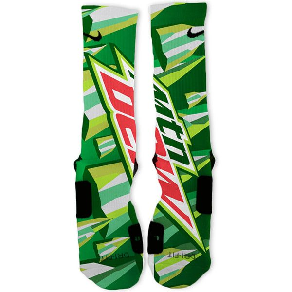 Mountain Dew Custom Nike Elite Socks – Fresh Elites
