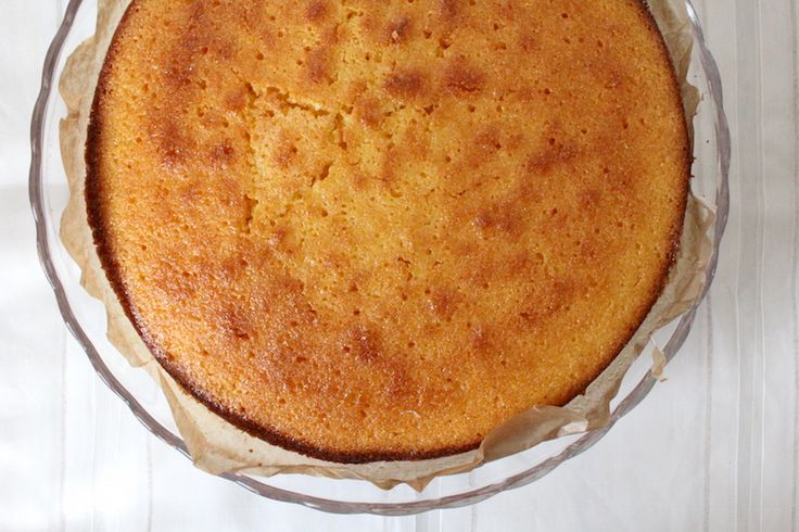 Polenta-citroencake met een vleugje lavendel en veel liefde
