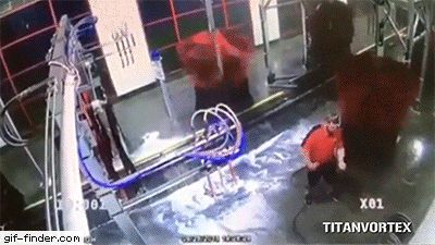 Manager Gets Stuck Spinning in Automatic Car Wash