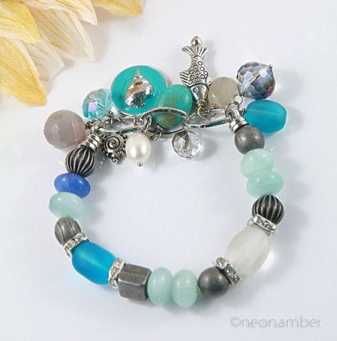 A Day at the Beach Bracelet+ – Neonamber Jewels