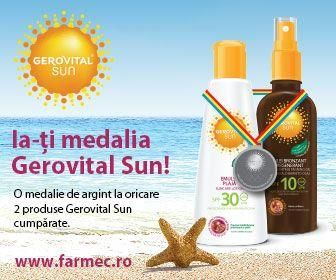 Vara suprizelor cu Farmec! :)    http://www.farmec.ro/produse/in-magazine/ia-ti-medalia-gerovital-sun--eid998.html