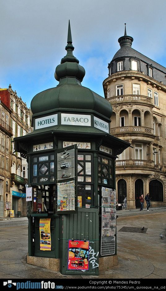 Architecture, Um Quiosque Na Cidade!!! PORTO