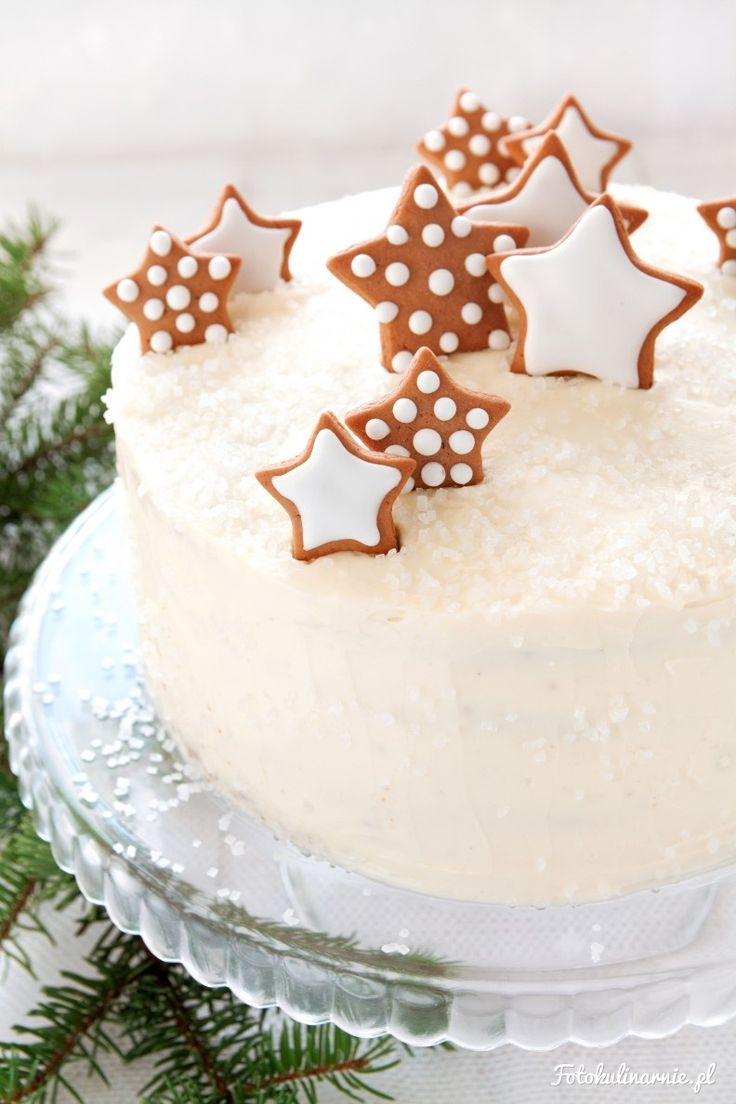 Gingerbread Carrot Cake with Halva and White Chocolate Cream Cheese Frosting.