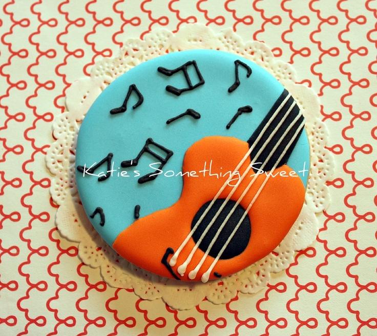 Guitar Cookies - Music Note Cookies (for Sierra)