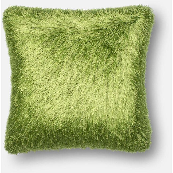 Loloi, Shaggy Throw Pillow, Many Colors