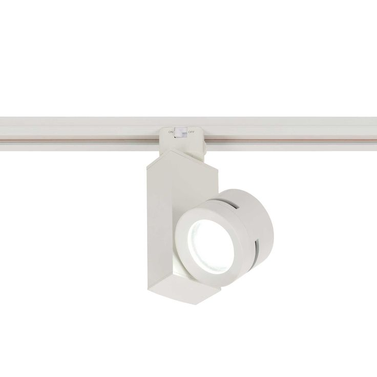 The Classic Vertical Spot 2 is an adjustable, miniature vertical spot track fixture compatible with single circuit 120 volt Juno Lighting track. Available in a White body with black trim or Black body with black trim. Offers 355 degree horizontal rotation and a 90 degree tilt. Includes 120 volt 12.5 watt Philips Luxeon M LED array, 3000K color temperature, 90CRI, with 60 lumens per watt for a total of 700 lumens. Includes interchangeable 14 degree, 24 degree or 39 degree beam reflectors…