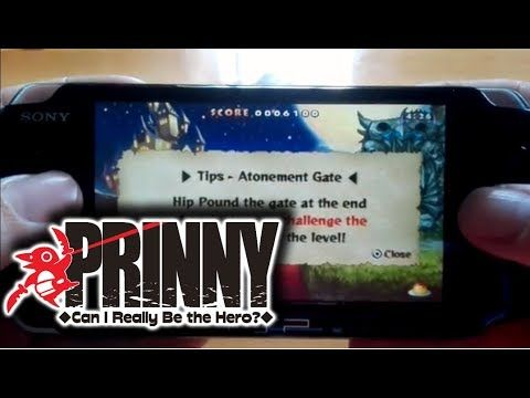 Kupo!1UP: Prinny •Can I Really Be the Hero?• PSP Gameplay