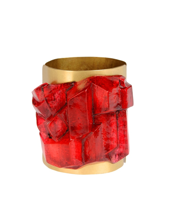 Rodarte cuff // the perfect accessory for that killer red gown