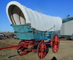 Conestoga Covered Wagon
