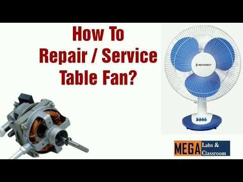 Easy Table Fan Repair   Table Fan Service   Table fan Parts ... on