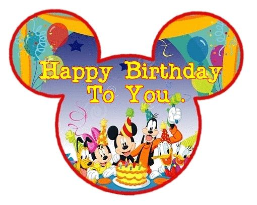 56 best images about Happy birthday – Disney Birthday Cards