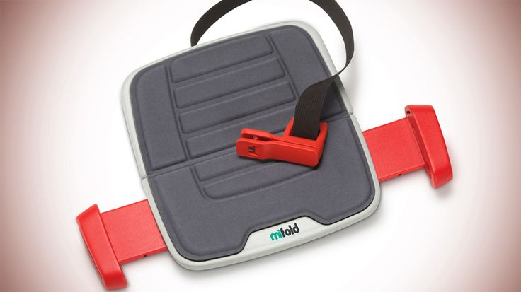 MiFold Booster Seat - one for both the kids when the time comes. so genius!