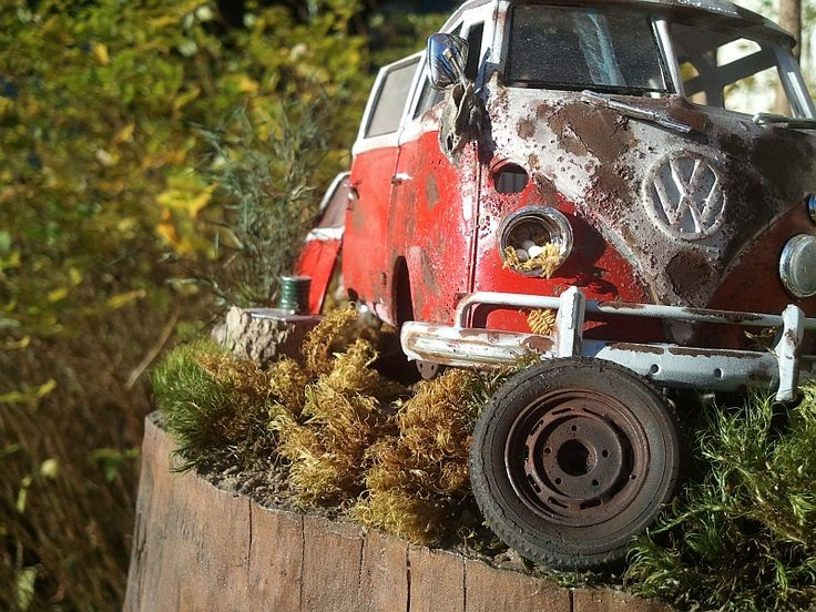 VW Camper 1/35 Scale Model Diorama