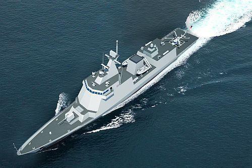 W latach 2020. marynarka wojenna Filipin przyjmie do służby dwie nowe fregaty rakietowe. Będą to najnowocześniejsze okręty w filipińskiej flocie / Rysunek: HHI