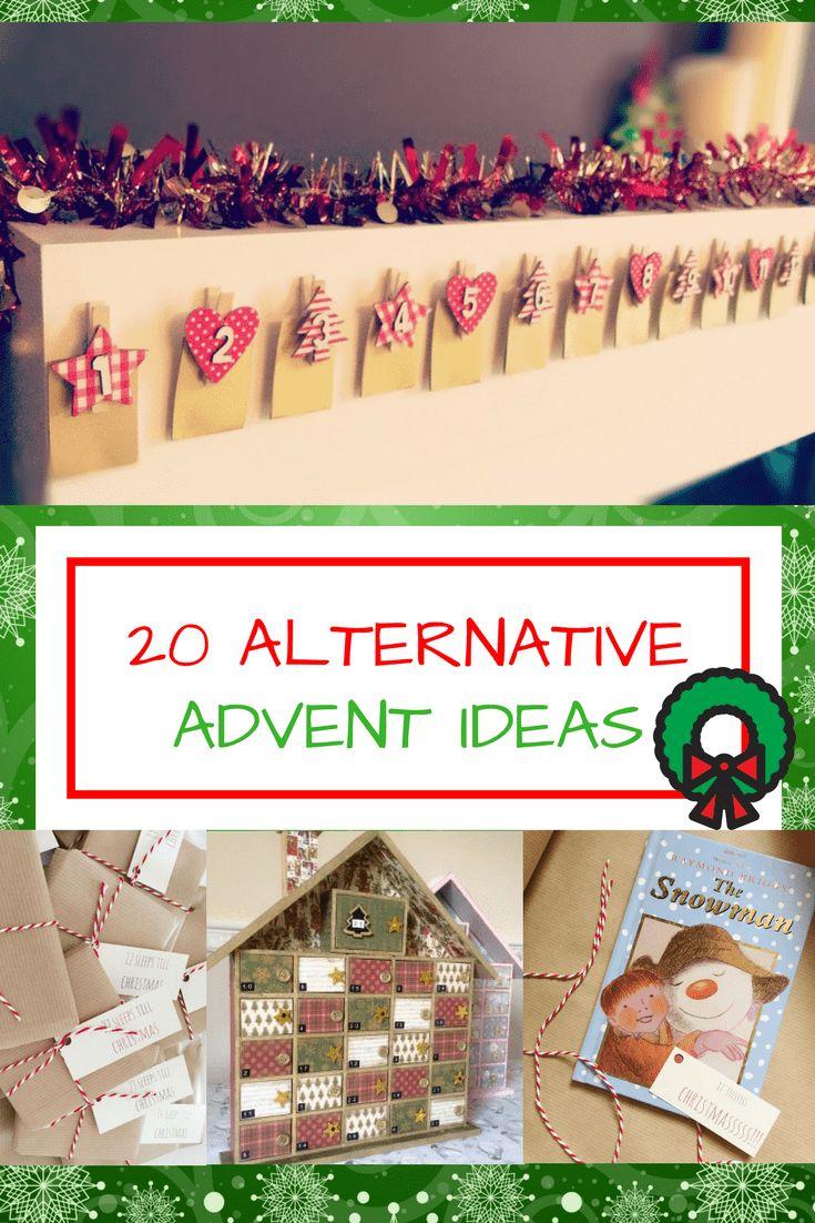 20 Chocolate Free Advent Calendar ideas for dairy allergy. Gin advent calendars, candle advent calendars, book advent calendars