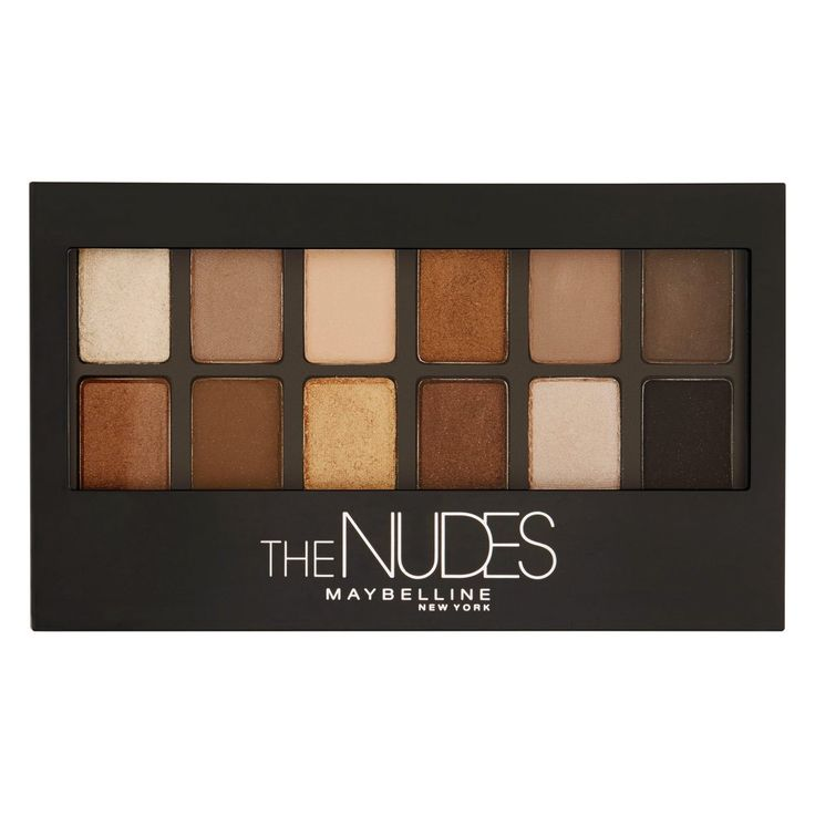 Maybelline The Nudes Palette 9.6 g