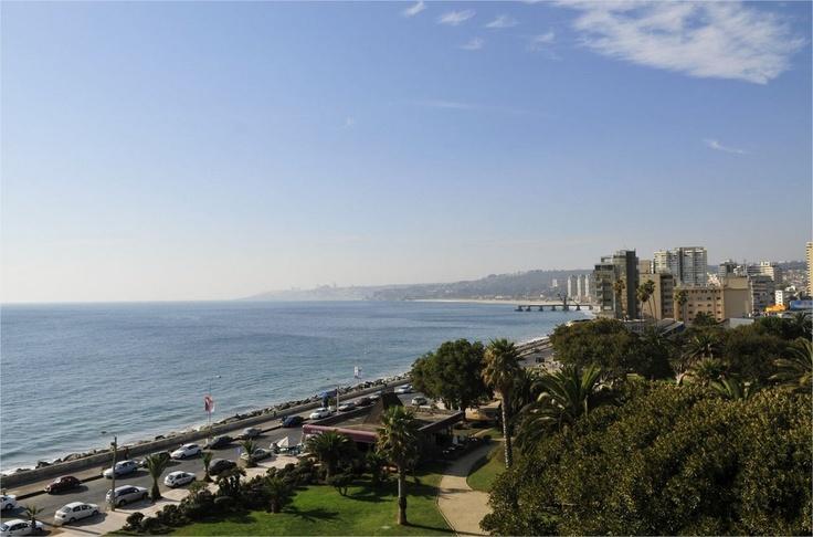 La hermosa vista desde las habitaciones del Hotel del Mar de enjoy Viña del Mar.