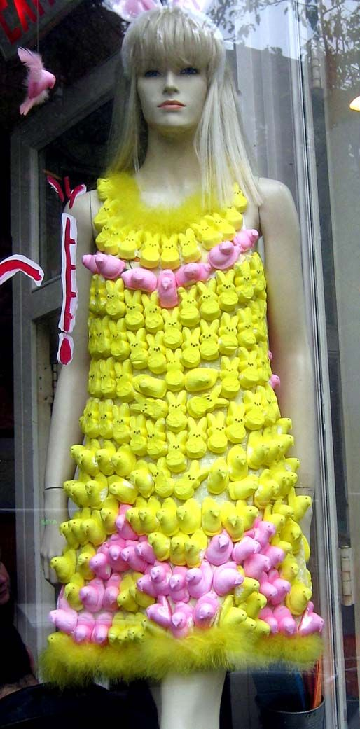 Marshmallow Peep Easter Crafts | Easter Craft – Marshmallow PEEPS Topiary (or, the Marshmallow PEEPS ...