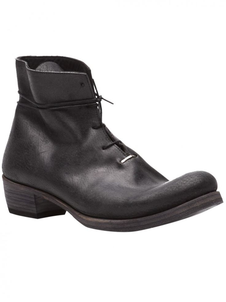 M.A+ - One Piece Staple Ankle Boot - SW6B2 MAVR 1.5 BLK - H. Lorenzo