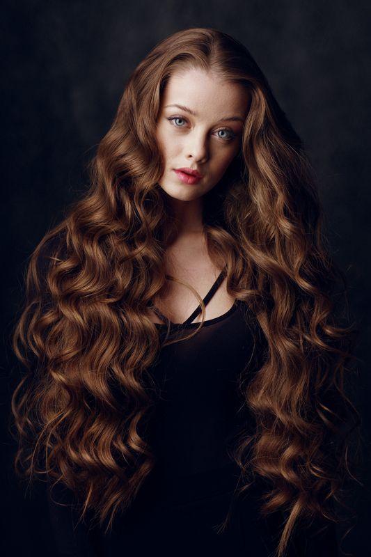 15 Lovey – Dovey Curly Hair Styles for Long Hair