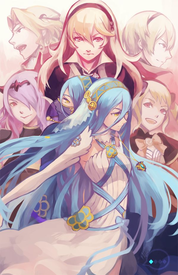 azura and camilla wallpaper - photo #46